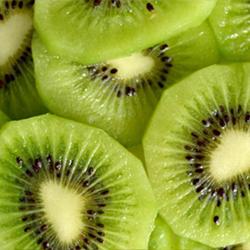 Kiwi en cubos